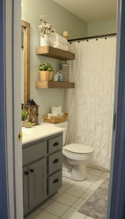 Interesting Floating Wall Shelves For Your Bathroom Style Ideas27