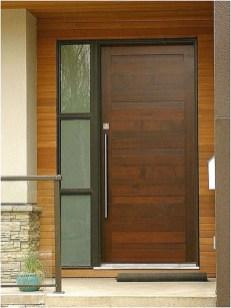Minimalist Home Door Design You Have Must See30