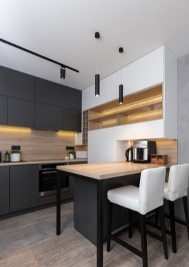 Modern Minimalist Kitchen Design Makes The House Look Elegant08