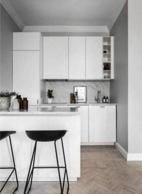 Modern Minimalist Kitchen Design Makes The House Look Elegant17