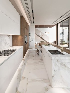 Modern Minimalist Kitchen Design Makes The House Look Elegant25