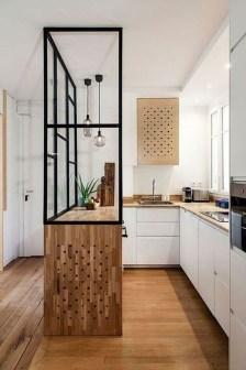 Modern Minimalist Kitchen Design Makes The House Look Elegant38