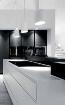 Modern Minimalist Kitchen Design Makes The House Look Elegant40