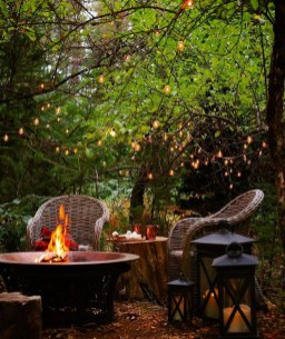 Perfect Fire Pit Design Ideas For Winter Season Decoration20