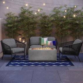 Perfect Fire Pit Design Ideas For Winter Season Decoration25