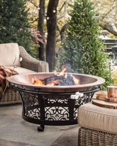 Perfect Fire Pit Design Ideas For Winter Season Decoration37