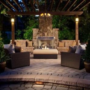 Perfect Fire Pit Design Ideas For Winter Season Decoration38