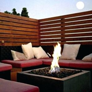Perfect Fire Pit Design Ideas For Winter Season Decoration40
