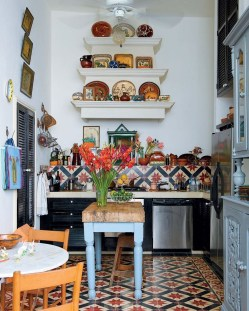 Wonderful Bohemian Kitchen Ideas To Inspire You12