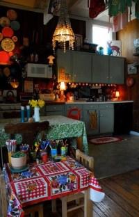 Wonderful Bohemian Kitchen Ideas To Inspire You23