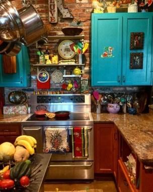 Wonderful Bohemian Kitchen Ideas To Inspire You24