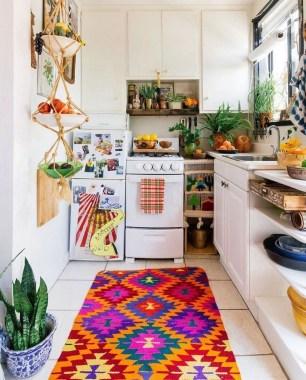 Wonderful Bohemian Kitchen Ideas To Inspire You26
