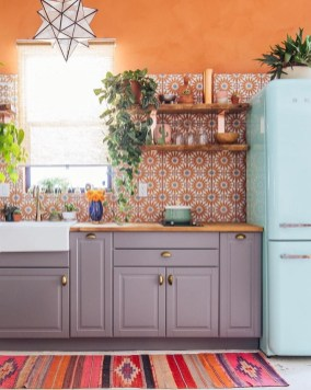 Wonderful Bohemian Kitchen Ideas To Inspire You34