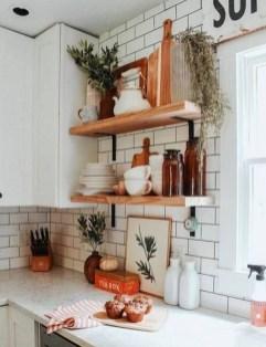 Wonderful Industrial Kitchen Shelf Design Ideas To Organize Your Kitchen01
