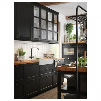 Wonderful Industrial Kitchen Shelf Design Ideas To Organize Your Kitchen33