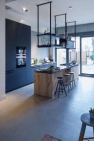 Wonderful Industrial Kitchen Shelf Design Ideas To Organize Your Kitchen39