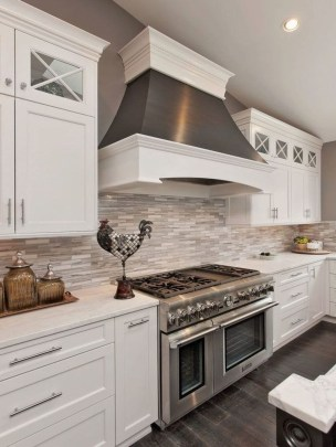 Adorable White Kitchen Design Ideas09