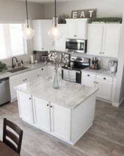 Adorable White Kitchen Design Ideas30