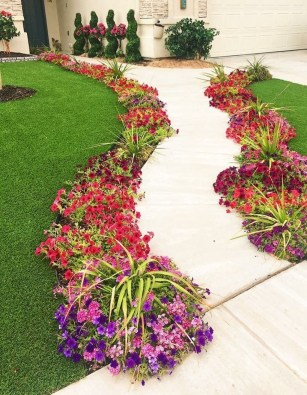 Beautiful Flower Beds Ideas For Home06