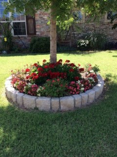 Beautiful Flower Beds Ideas For Home32