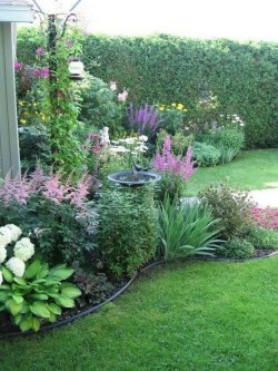 Beautiful Flower Beds Ideas For Home38