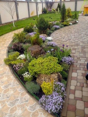 Beautiful Flower Beds Ideas For Home43