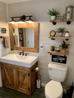Brilliant Bathroom Decor Ideas On A Budget39