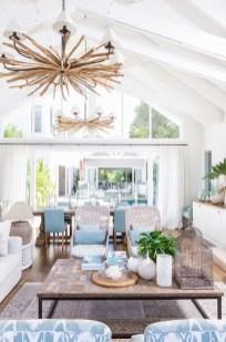 Elegant Coastal Themed Living Room Decorating Ideas01