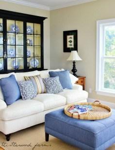 Elegant Coastal Themed Living Room Decorating Ideas02