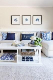 Elegant Coastal Themed Living Room Decorating Ideas11