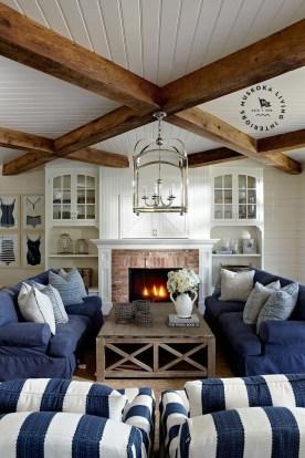 Elegant Coastal Themed Living Room Decorating Ideas17