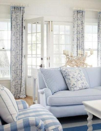 Elegant Coastal Themed Living Room Decorating Ideas30