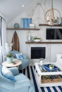 Elegant Coastal Themed Living Room Decorating Ideas34