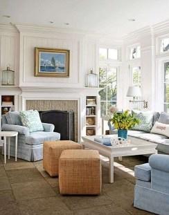Elegant Coastal Themed Living Room Decorating Ideas35