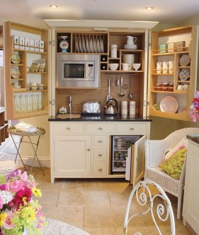 Enchanting Kitchen Design Ideas For Small Spaces06