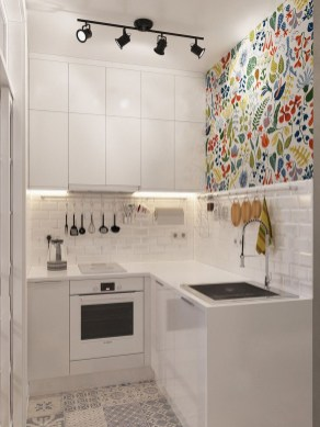 Enchanting Kitchen Design Ideas For Small Spaces15