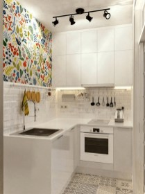 Enchanting Kitchen Design Ideas For Small Spaces22