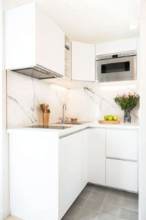 Enchanting Kitchen Design Ideas For Small Spaces30