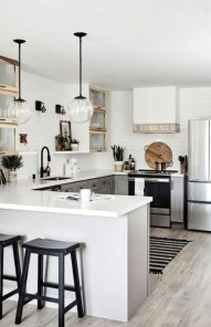 Enchanting Kitchen Design Ideas For Small Spaces41