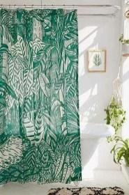 Fabulous Bathroom Design Ideas With Boho Curtains02