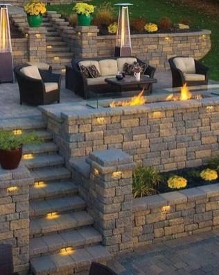 Impressive Backyard Lighting Ideas For Home18
