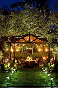 Impressive Backyard Lighting Ideas For Home29