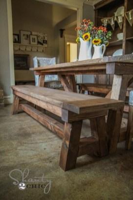 Pretty Farmhouse Table Design Ideas For Kitchen41