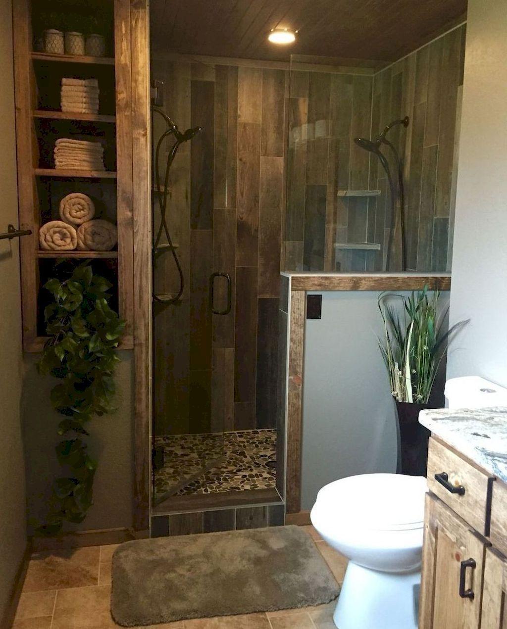 39 Vintage Farmhouse Bathroom Decor Design Ideas Homishome