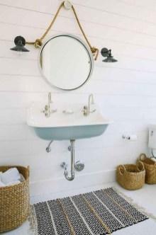 Vintage Farmhouse Bathroom Decor Design Ideas10