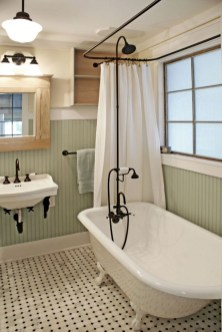 Vintage Farmhouse Bathroom Decor Design Ideas14