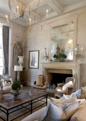 Wonderful French Country Design Ideas For Living Room35