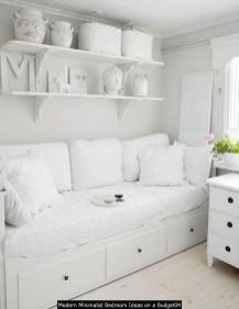 Modern Minimalist Bedroom Ideas On A Budget04