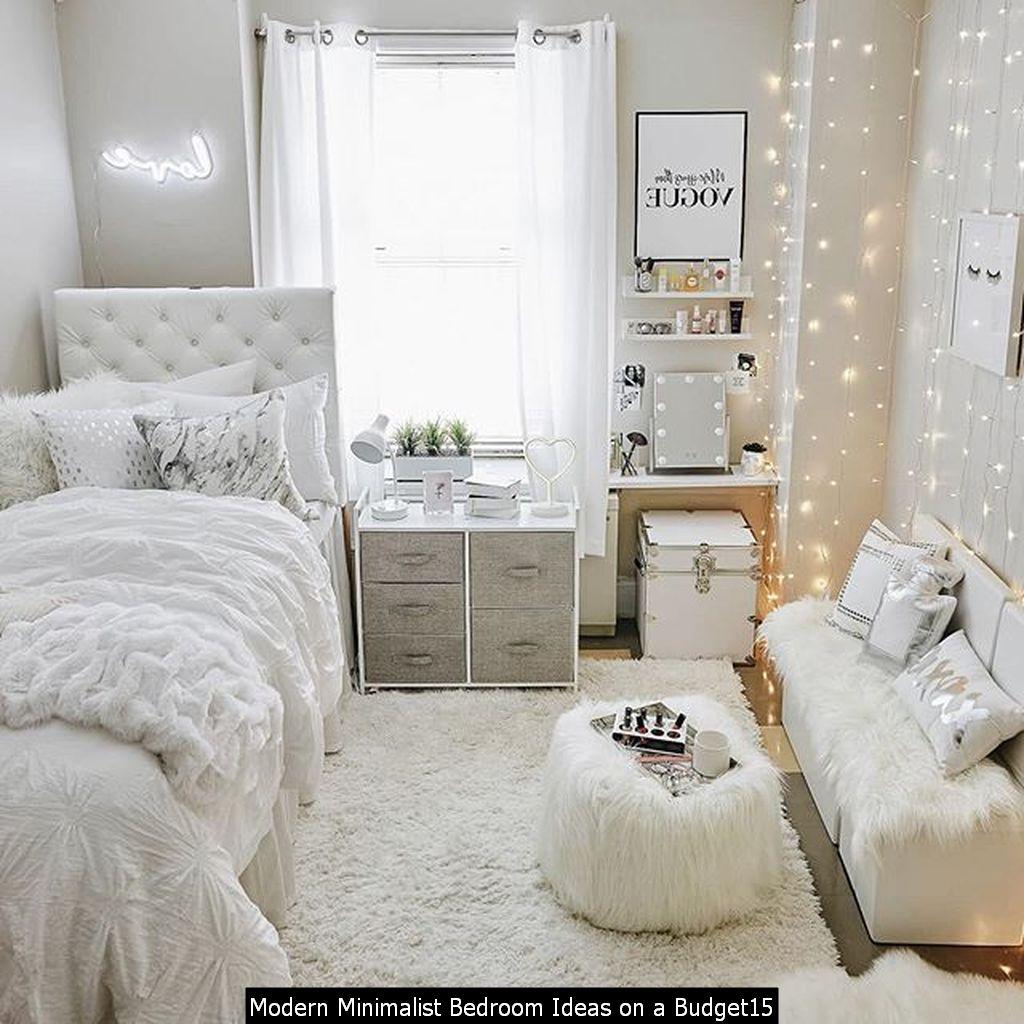 Modern Minimalist Bedroom Ideas On A Budget15