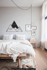 Modern Minimalist Bedroom Ideas On A Budget19